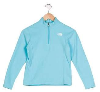 The North Face Girls' Fleece Embroidered Sweater