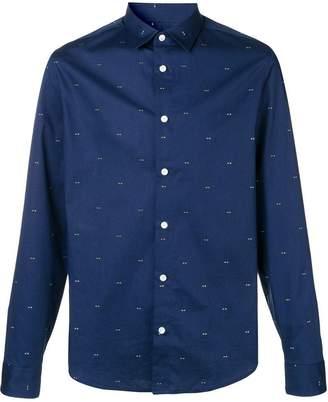 Kenzo eye print shirt