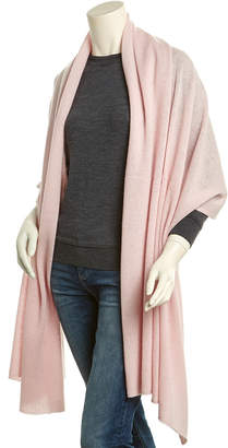 In2 By Incashmere Soft Rose Long Cashmere Shawl