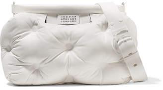 Maison Margiela Glam Slam Medium Quilted Leather Shoulder Bag - White