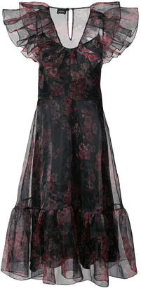 Jill Stuart ruffled floral dress