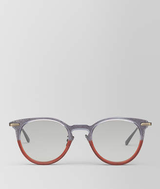 Bottega Veneta GREY METAL SUNGLASSES