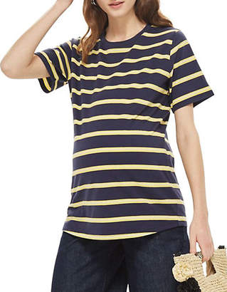Topshop MATERNITY Wide Striped T-Shirt