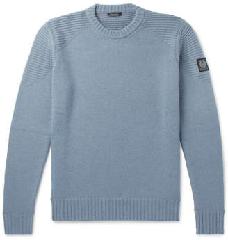 Belstaff Southview Virgin Wool And Cashmere-Blend Sweater