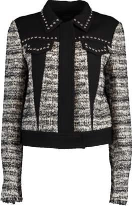 Giambattista Valli Tweed Studded Jacket