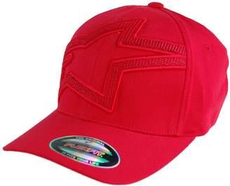 Alpinestars Men's Textedit Flex Fit Hat Motocross Baseball Cap, L/XL