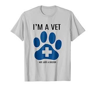 NOT JUST A DOGTOR T SHIRT Veterinary Veterinarian T-Shirt