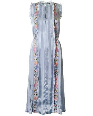 French Connection Katalina Stripe Vintage Dress Colour: BLUE, Size: 8