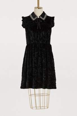 Miu Miu Velvet dress