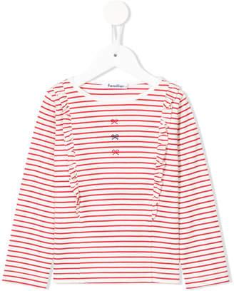 Familiar embellished striped jumper
