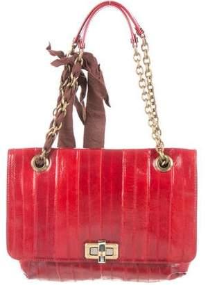 Lanvin Eel Skin Happy Bag