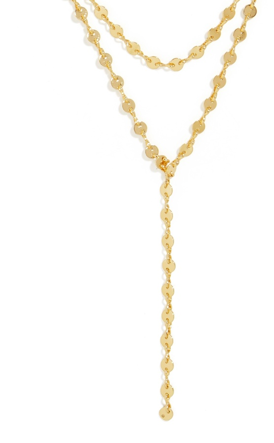 Aimee Layered Y-Chain Necklace 2