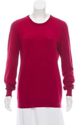 Maison Margiela Long Sleeve Crew Neck Sweater