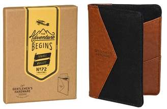 Charcoal Canvas Travel Wallet
