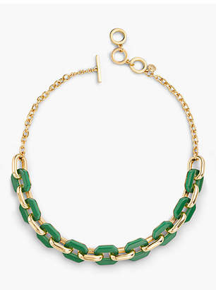 Talbots Bold Links Necklace