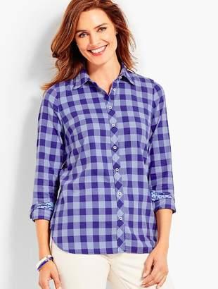 Talbots The Classic Cotton Shirt - Buffalo Check