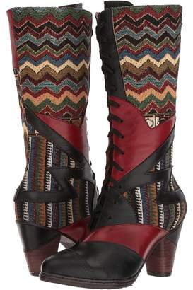 Spring Step L'Artiste by Malag Women's Lace-up Boots