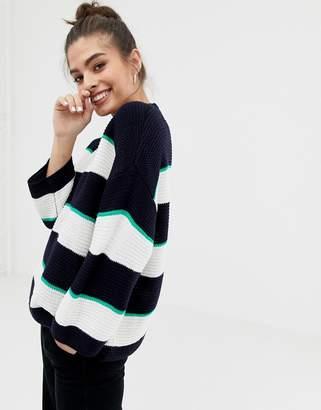 Brave Soul valley stripe sweater