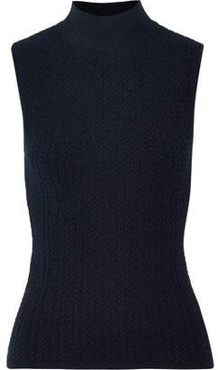 Theory Everleen Cable-Knit Turtleneck Top