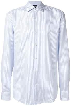 HUGO BOSS striped long-sleeve shirt