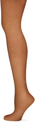 Pretty Polly Women's 15D Everyday Tights, 15 DEN, Barely Black, (Size:/Large)