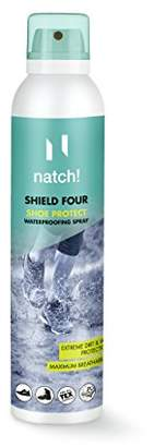 Natch Shield Four Shoe & Boot Waterproofing Spray / 8.45oz / Made in Germany