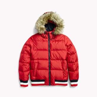 Tommy Hilfiger Fur Puffer Jacket