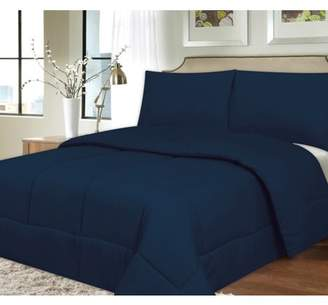 Sweet Home Collection Down Alternative Polyester Box Stitch Microfiber Comforter