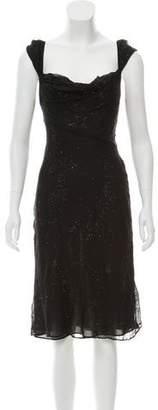 Diane von Furstenberg Embellished Evening Dress