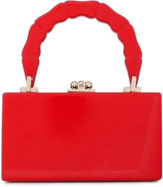 Edie Parker Jean Acrylic Box Clutch