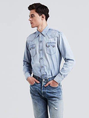 Levi's 1955 Sawtooth Western Shirt Chambray