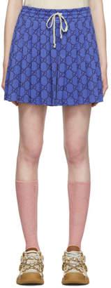 Gucci Blue GG Shorts