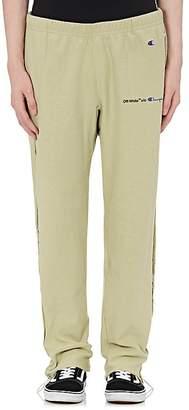 Off-White Men's Champion Cotton-Blend Sweatpants