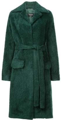 Rochas belted midi coat