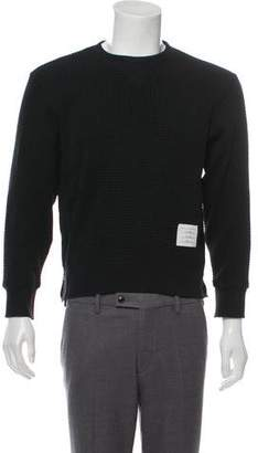 Thom Browne Textured Crew Neck Sweater