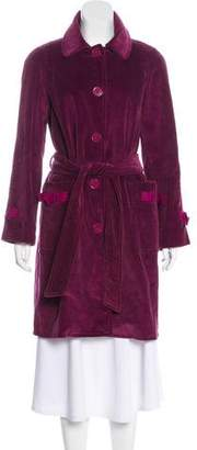 Marc by Marc Jacobs Corduroy Knee-Length Coat