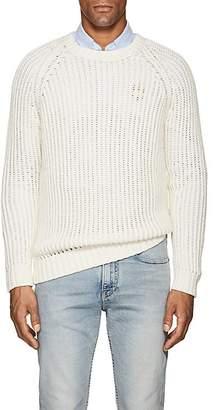 Barneys New York Men's Cotton-Alpaca Crewneck Sweater