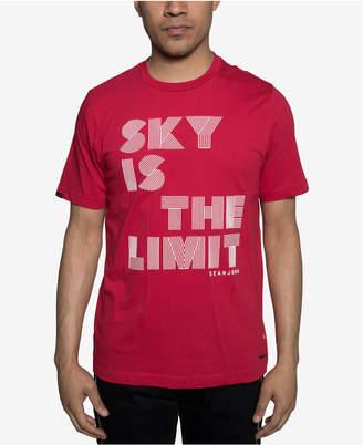 Sean John Mens Sky Is The Limit Graphic T-Shirt