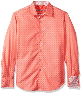 Robert Graham Men's Diamante Long Sleeve Shirt