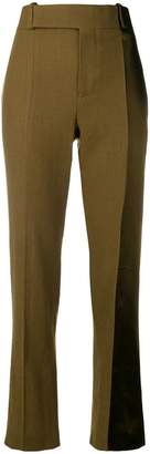 Haider Ackermann panelled straight-leg trousers