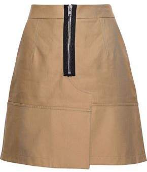 Alexander Wang Cotton-Twill Mini Skirt