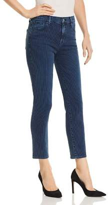 J Brand Ruby High Rise Crop Cigarette Jeans in Breaker