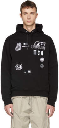 McQ Black Big Hoodie