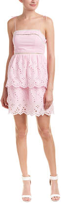 Romeo & Juliet Couture Embroidered Mini Dress