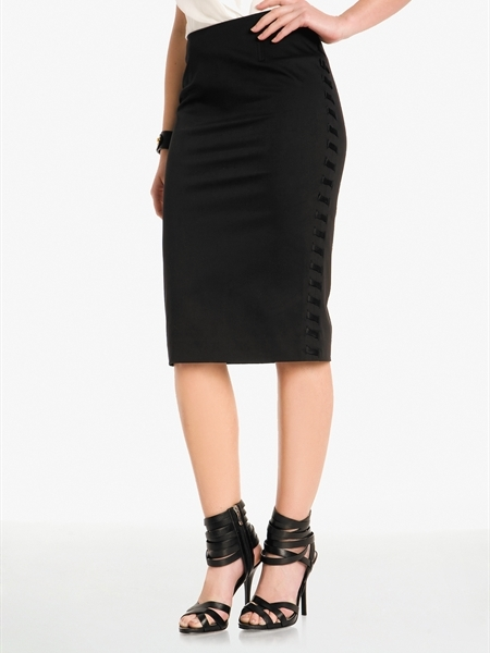 Trinity Long Pencil Skirt