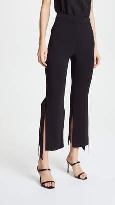 Cushnie et Ochs Salma Cropped Pants with Satin Ribbon