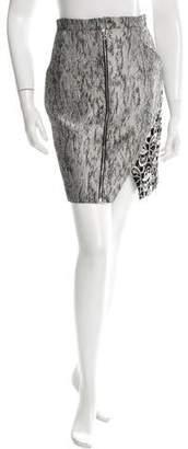 Brandon Sun Textured Tweed Skirt