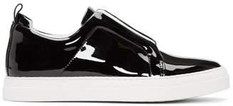 Pierre Hardy Black Patent Slider Sneakers