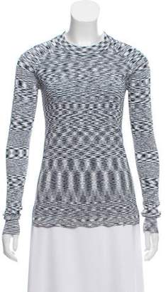 Veronica Beard Patterned Knit Top