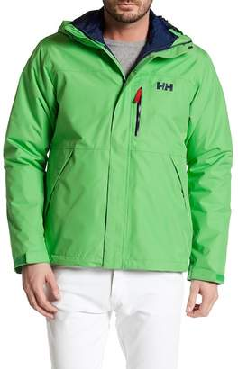 Helly Hansen Squamish 3-in-1 Water-Repellent Hooded Jacket $225 thestylecure.com